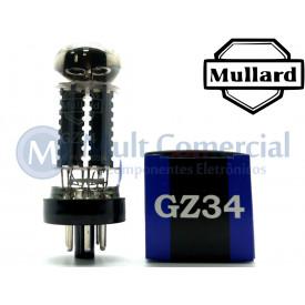 Válvula Retificadora GZ34 Mullard