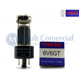 Válvula 6V6GT Pentodo de Potência Tung-Sol