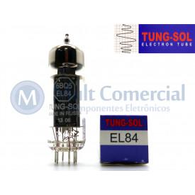 Válvula EL84 6BQ5 Pentodo de Potência Tung-Sol