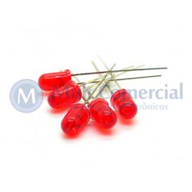 Led 5mm Vermelho Cristalino L-513ET - Paralight