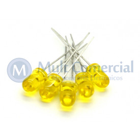 Led 5mm Amarelo Cristalino L-513YTI - Paralight