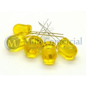 Led 10mm Amarelo Cristalino L-833YT - Paralight
