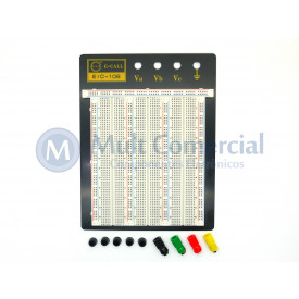 Protoboard 2390 pontos sem kit de Jumpers EIC-106 165-40-1060 - E.I.C.