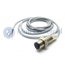 Sensor Fotoelétrico Difuso IDCL 30-18 DP - M18 - Distância Sensora 300mm PNP - NA+NF - 10 á 30Vdc - Sensor Bras