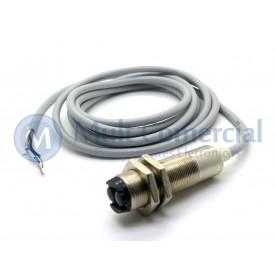 Sensor Fotoelétrico refletivo IRCL 10-18 DP - M18 - Distância Sensora 1mm PNP - NA+NF - 10 á 30Vdc - Sensor Bras