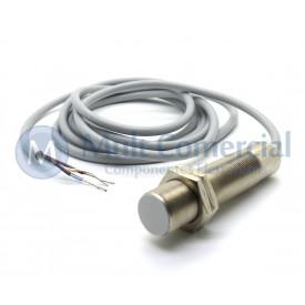 Sensor Capacitivo DCL 5-18 DPT - M18 - Distância Sensora 5mm PNP - NA+NF - 10 á 30Vdc - Sensor Bras