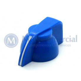 Knob Cabeça de Galinha K7-1-18T  - Cód KNCHSS - Azul