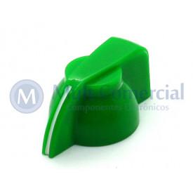 Knob Cabeça de Galinha K7-1-18T  - Cód KNCHSS - Verde