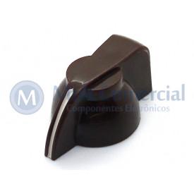 Knob Cabeça de Galinha K7-1-18T - Cód KNCHSS - Marrom
