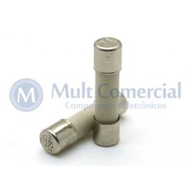 Fusível Cerâmico 10A 250V 5x20mm - 20AG