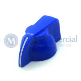 Knob Cabeça de Galinha (Chicken Head) - Cód KNCHSS - Azul