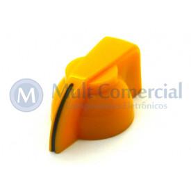 Knob Cabeça de Galinha (Chicken Head) - Cód KNCHSS - Amarelo