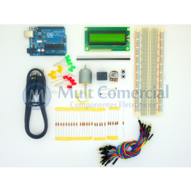 Kit Arduino para iniciantes Mult Comercial - 21 Itens