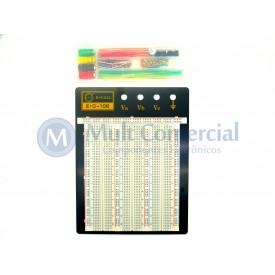 Protoboard 2390 pontos com kit de Jumpers EIC-106 165-41-1060 - E.I.C.