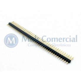 Barra de Pinos Simples 1x40 Macho BMO040-1E