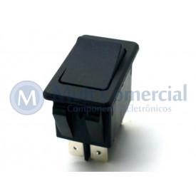Interruptor de Tecla Plástica Bipolar ASW-17-202 35A 12V  LIGA/LIGA
