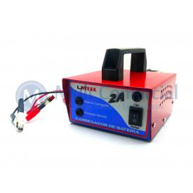 Carregador de Bateria Speed Profissional 16Vdc - 2A - CB16V2A - Unitel