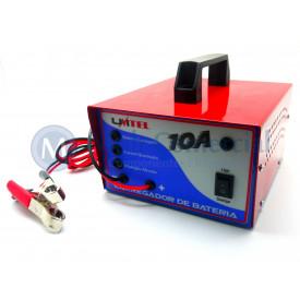 Carregador de Bateria Speed Profissional 16Vdc - 10A - CB16V10A - Unitel