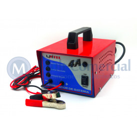 Carregador de Bateria Speed Profissional 16Vdc - 4A - CB16V4A - Unitel