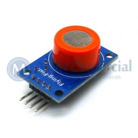 Sensor de Gás MQ-3 Álcool Compatível com Arduino - GC-42
