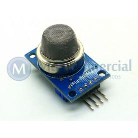Sensor de Gás Hidrogênio MQ-8 Compatível com Arduino - GC-40