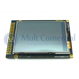 Display TFT 2.8 Serial Touchscreen Compatível com Arduino