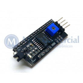 Módulo Serial I2C para Display LCD Compatível com Arduino - GC-59