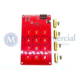 Módulo de sensor de toque capacitivo MPR121 3X4 3.3V/5V Compatível com Arduino - GC-06