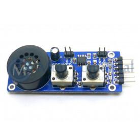 Placa de teste analógico / módulo de saída para teste integrado AD / DA função de MCUs Compatível com Arduino - GC-23