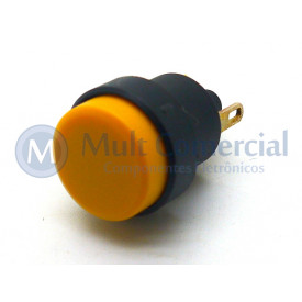 Interruptor Push button 1A - CS-392 - Amarelo - Margirius