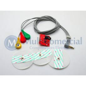 Sensor de Batimentos Cardíacos  AD8232 Compatível com Arduino