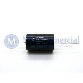 Capacitor de Polipropileno Metalizado 4.7uf/630V Axial - Solen