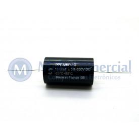 Capacitor de Polipropileno Metalizado 10uf/630V Axial - Solen