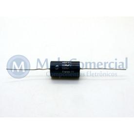 Capacitor de Polipropileno Metalizado 330KPF/630V (0.33uF / 330NF / 334) Axial - Solen