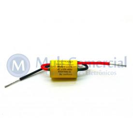 Capacitor de Polipropileno Metalizado 470KPF/400V Axial - Auricap