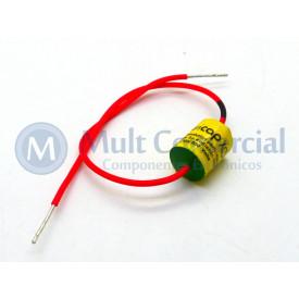 Capacitor de Polipropileno Metalizado 10KPF/600V Axial - Auricap