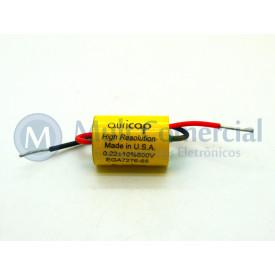 Capacitor de Polipropileno Metalizado 220KPF/600V Axial - Auricap