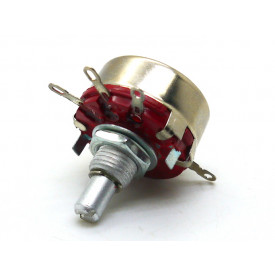 Potenciômetro 23mm 2 Watt 100K eixo metálico sem chave - WTH (118)