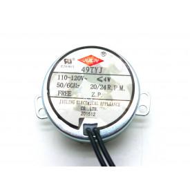 Motor AC 110-120V 20/24 RPM com Redução Cód. Motor 60