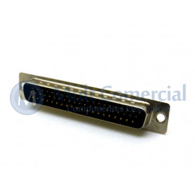 Conector DB62 Macho Solda Fio VGA DS1035-62MBNSISS - Connfly