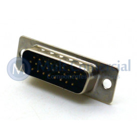Conector DB26 Macho Solda Fio VGA DS1035-26MBNSISS - Connfly