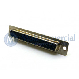 Conector DB62 Fêmea Solda Fio VGA DS1035-62FBNSISS - Connfly