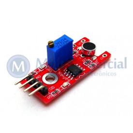 Sensor de Som 90° Compatível com Arduino