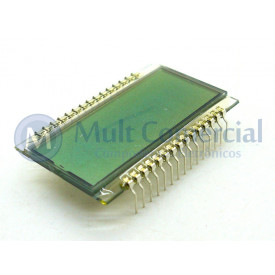 Display LCD 4.5 Dígito (4 e 1/2 Dígito) VIM-503-DP-FC-S-HV