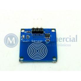 Módulo Sensor Toque Capacitivo TIP223B - GC-81
