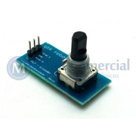 Módulo Encoder Rotativo - P17 - GC-93