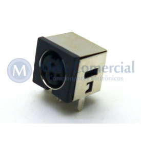 Conector Mini Din Fêmea PCI DS1093-03BN3-0 - 3 Pinos - Jiali