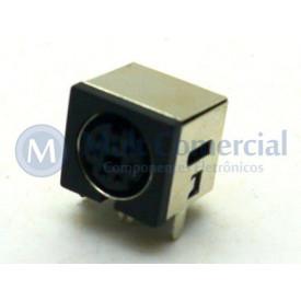 Conector Mini Din Fêmea PCI DS1093-03BN7-0 - 7 Pinos - Jiali