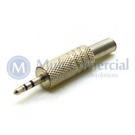 Plug P1 Estéreo 2.5mm - JL11009 - Jiali