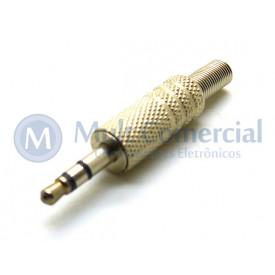 Plug P2 Estéreo 3.5mm - JL11019 - Jiali